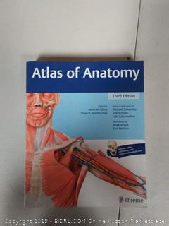 Atlas of Anatomy 3rd Edition Book