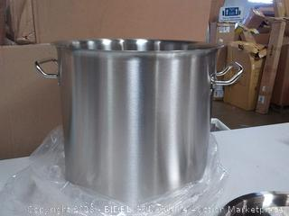 GasOne SP-32 Stainless Steel Brew Kettle Pot, 8 Gallon/32 Quart Satin Finish with Lid/Cover (Online $59.99)