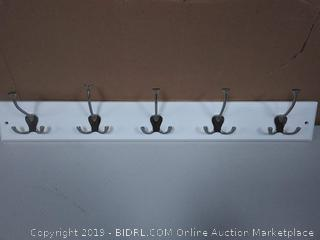 "Liberty 27"" Rail w/5 Flared Tri Hooks"