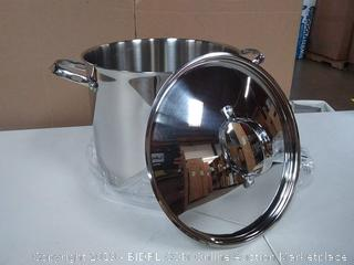 Neway International Housewares Standard 12 Quart Classic Stainless Steel Stock Pot with Lid