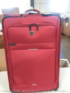 """Traveler's Choice Rolling Suitcase, 29"""", Red"""
