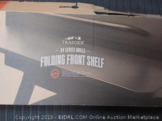 Traeger 34 Series Folding Front Shelf (Online $69.95)