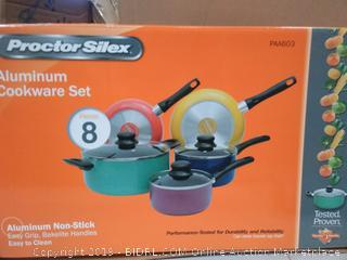 8 Piece Proctor Silex Aluminum Cookware Set