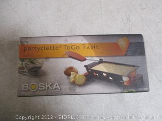 Boska Partyclette Tofo Taste