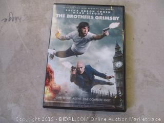THE BROTHERS GRIMSBY DVD