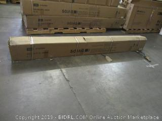 Sojag 500-8162585 Dakota Sun Shelter, 10' x 10', Dark Brown (Incomplete Set) (Retail $1,454.00)