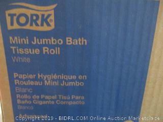 Tork Mini Jumbo Bath Tissue Roll White
