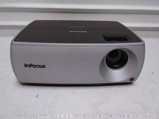 InFocus projector model IN2104EP (online $595) previously owned