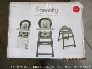 INGENUITY WOOD HIGH CHAIR (FACTORY SEALED)