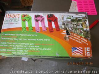IBERT CENTER MOUNTED BICYCLE SAFE T-SEAT