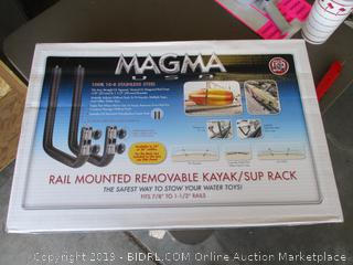MAGMA RAIL MOUNTD REMOVABLE KAYAK RACK