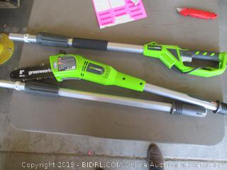 GREENWORKS ELECTRIC POLE SAW