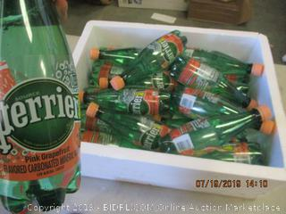 PERRIER SPARKLING PINK GRAPEFRUIT WATER