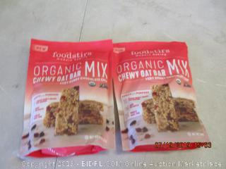 FOODSTIRS ORGANIC CHEWY OAT BAR MIX