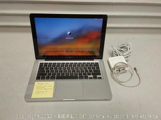 Professionally Refurbished MacBook Pro 2.5 gigahertz I5 Intel 4 gigabyte memory 160 GB HDD( small scratch on cover