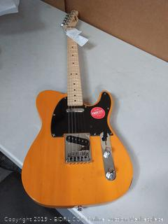 Squier by Fender Affinity Telecaster, Butterscotch Blonde (online $199)