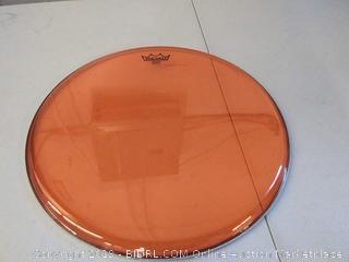 """Remo Emperor Colortone Orange Drumhead,18"""""""