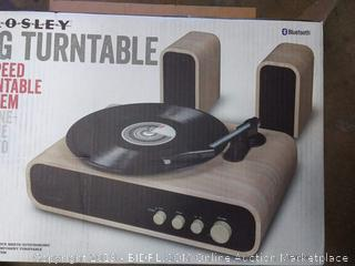 Crosley gig turntable 2 speed turntable system CR6035A-NA