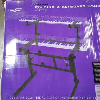 On-Stage Folding - Z Keyboard Stand with Second Tier