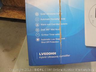 Levoit Hybrid Ultrasonic Humidifier
