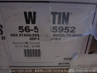 HDX stainless steel wheel-to-wheel item
