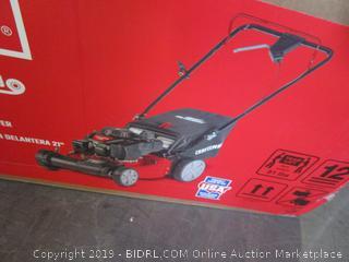"craftsman 21"" front-wheel drive self-propelled mower"