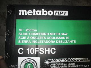metabo slide compound miter saw