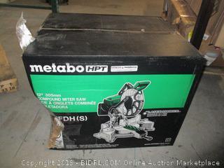 metabo compound miter saw
