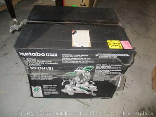 metabo compound miter saw