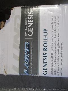 genesis toll-up tonneau cover