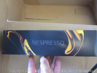 Nespresso citiz household coffee maker - powers on