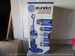 eureka powerspeed lightweight upright vacuum cleaner - new, box damage