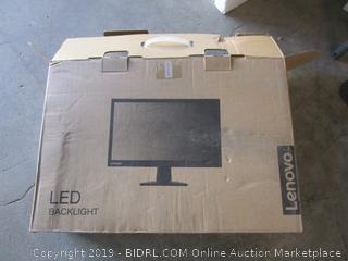 "Lenovo 21.5"" LCD monitor - powers on"