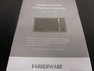 Farberware Classic Microwave  Powers On