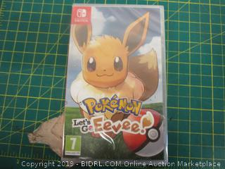 Nintendo Switch Pokemon Let's Go Eevee