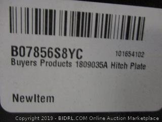 Buyers Products 1809035A Hitch Plate (Retail $330.00)