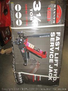 Banner Fast Lift Hydraulic Service Jack