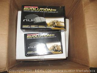Evolution Disc Brake Pads
