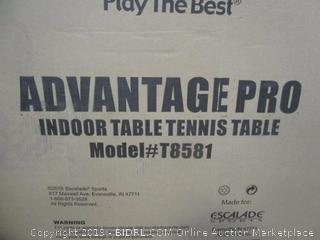 STIGA Advantage Competition-Ready Indoor Table Tennis Table (Retail $499.00)