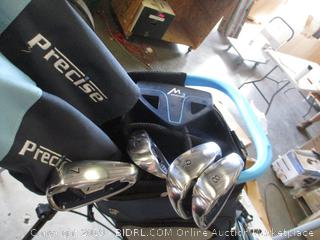 PRECISE GOLF BAG & CLUBS
