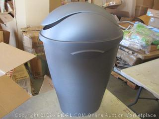 SWING LID TRASH CAN