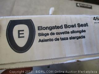 KOHLER ELONGATED TOILET BOWL SEAT