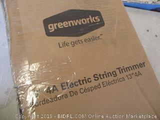 GREENWORKS ELECTRIC STRING TRIMMER