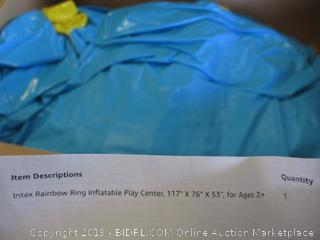 INTEX RAINBOW RING IINFLATABLE PLAY CENTER