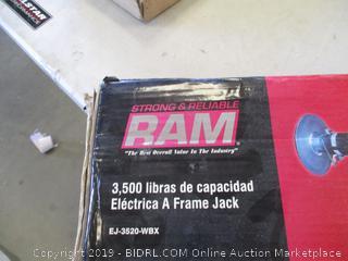 RAM ELECTRIC A-FRAME JACK