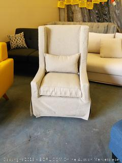 Padmas Plantation Sandspur Beach Swivel Lounge Chair (Online $1075.00)