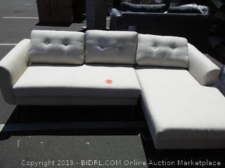 Nordic Upholstery Chip Sectional (scratch in leg) online $1159