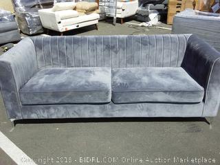 Herbert Chesterfield sofa grey (online $787)