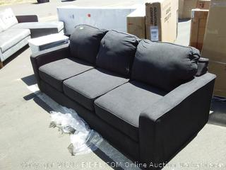 Deerpark Queen Sofa Bed (Damaged) tears on front cushions