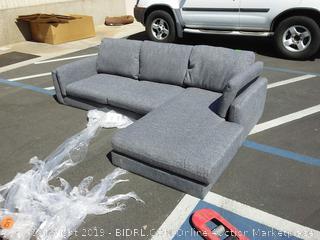 Jordana 2 piece Sectional Sofa (online $700)